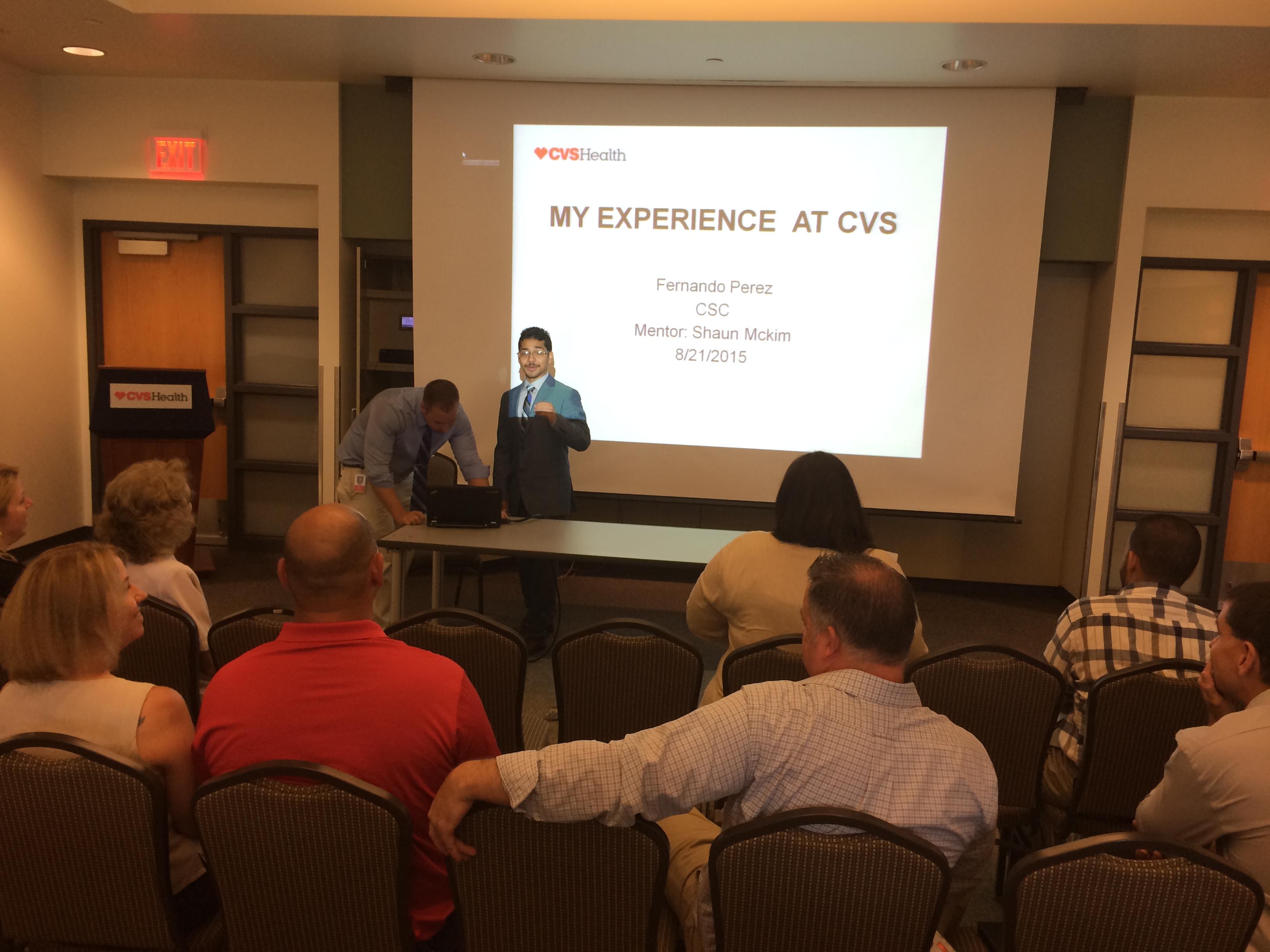 cvs summer internship