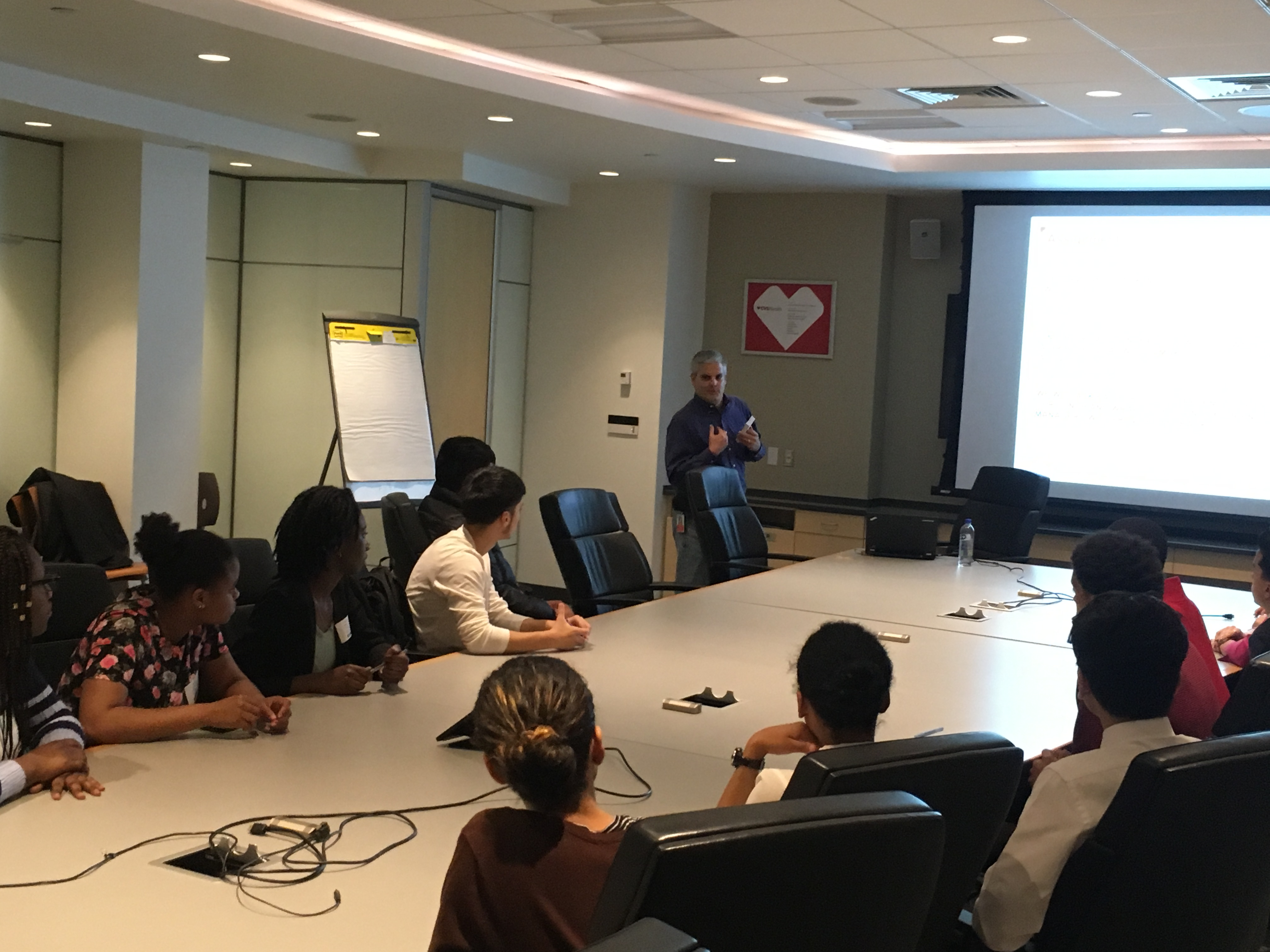 Today's Class: May 5th, 2017 – CVS Heath Career and Job Day