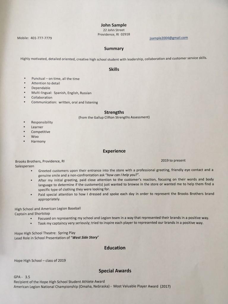 Resume 0 John Q- IMG_5255